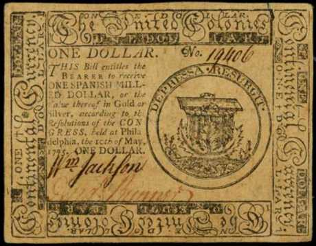 ContinentalCongressCurrency