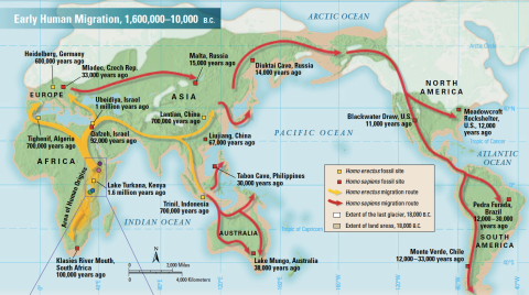 Early-human-migration-map