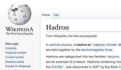 HadronArticle