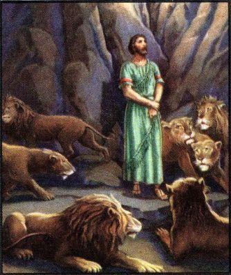Daniel in the Lion's Den Daniel 6:19-20
